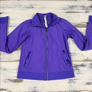 Lululemon breathable sport jacket